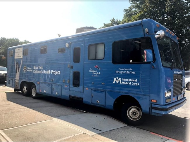 International Medical Corps will staff a mobile medical center with a team comprising physicians, nurses and support staff.